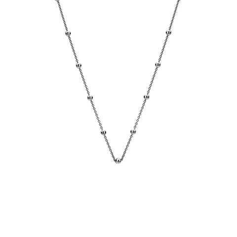 "Hot Diamonds Emozioni 30"" Sterling Silver Intermittent Bead Chain CH002 2104024"