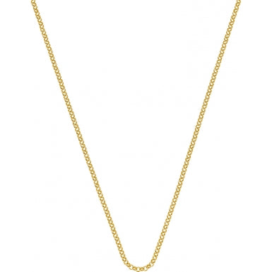 "Hot Diamonds Emozioni 18"" Gold Curb Chain CH010 2104032"