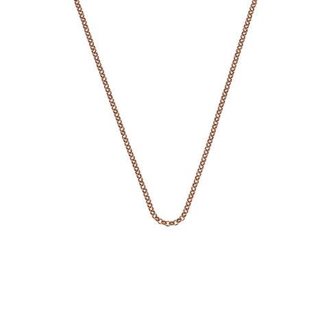 "Hot Diamonds Emozioni 24"" Rose Gold Belcher Chain CH054 2104051"