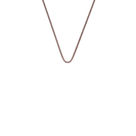 "Hot Diamonds Emozioni 18"" Rose Gold Popcorn Chain CH037 2050038"