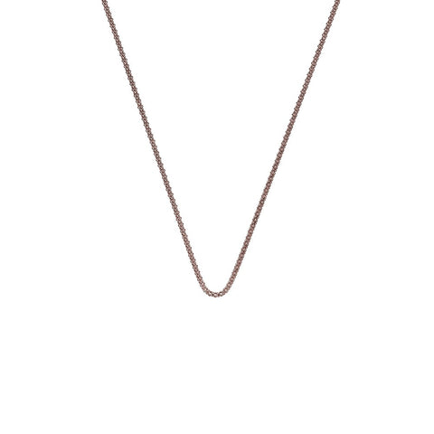"Hot Diamonds Emozioni 30"" Rose Gold Popcorn Chain CH038 2050073"