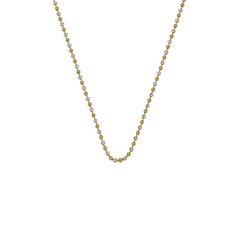 "Hot Diamonds Emozioni 30"" Sterling Silver & Gold Chain CH047 2104045"