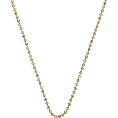 "Hot Diamonds Emozioni 24"" Gold Accent Bead Chain CH062 2104059"