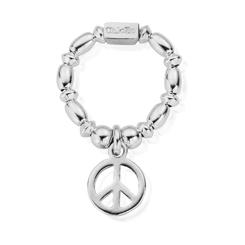 ChloBo - Mini Rice Peace Sterling Silver Ring SRMR2107 SRMR1107 2201014 2201039