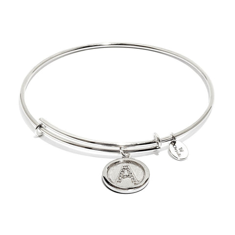 Chrysalis - Initial A Expandable Bangle 4214158 X