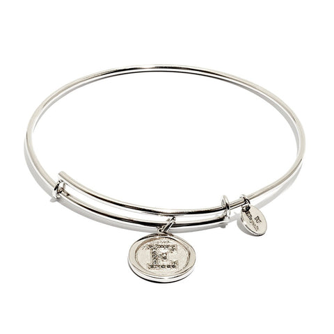 Chrysalis - Initial E Expandable Bangle 4214166 X