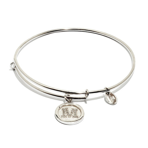 Chrysalis - Initial M Expandable Bangle 4214182 X