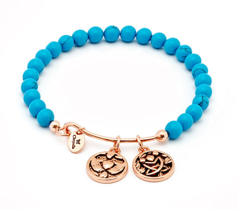 Chrysalis - Friendship Turquoise Bangle 4214025 X