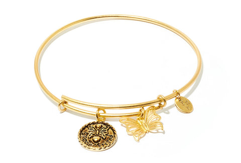 Chrysalis - Special Friend Expandable Gold Plated Bangle 4214241 X