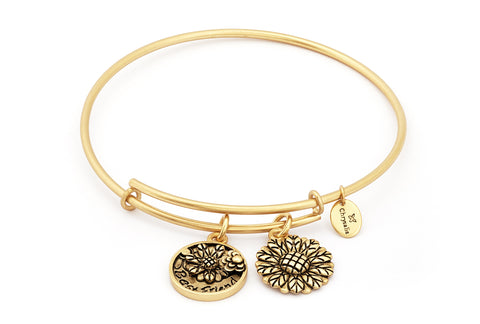 Chrysalis - Best Friend Expandable Gold Plated Bangle 4214283 X