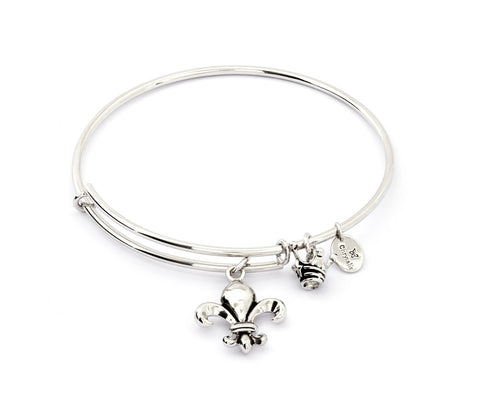 Chrysalis - Fleur de Lis Expandable Bangle X