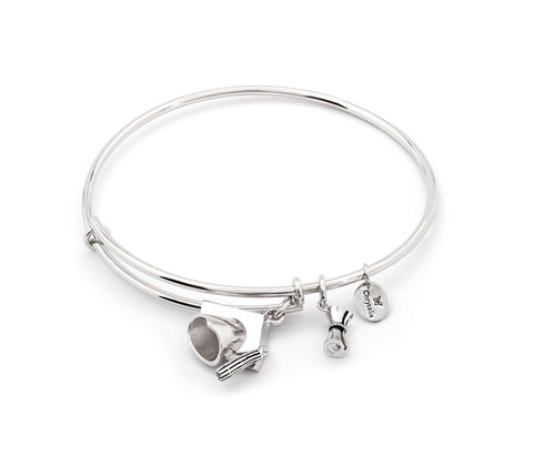 ChloBo - Mini Noodle Ball Puffed Heart Sterling Silver Bracelet SBMNB023