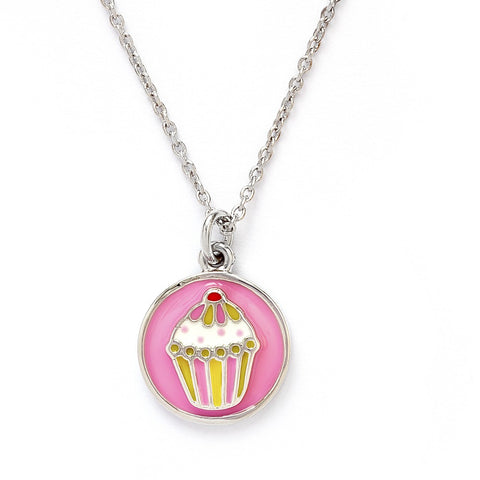 Chrysalis - Child's Cupcake Necklace 4204002