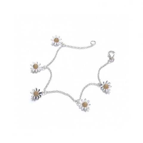 Daisy Five Marguerite 10mm Drop Bracelet B6015 2805029