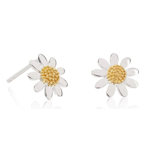 Daisy Marguerite 10mm Stud Earrings E4005
