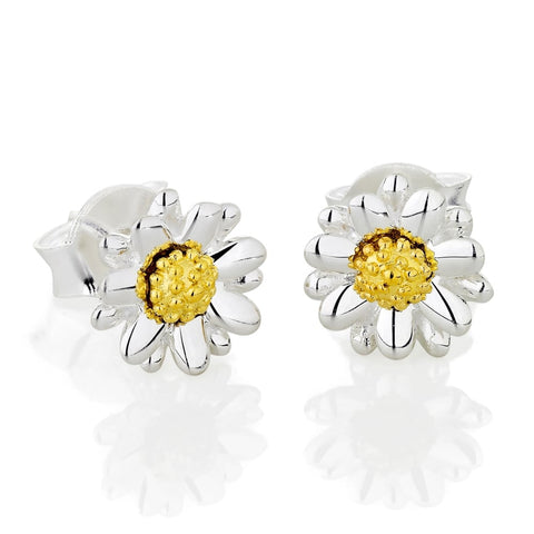 Daisy - Bellis Daisy 7mm Stud Earrings E2003