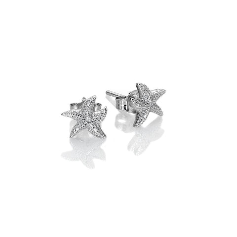 Hot Diamonds Daisy Eternal Love Sterling Silver Stud Earrings DE604