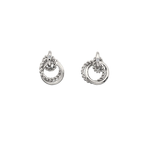 Hot Diamonds Unity Circle Earrings DE610