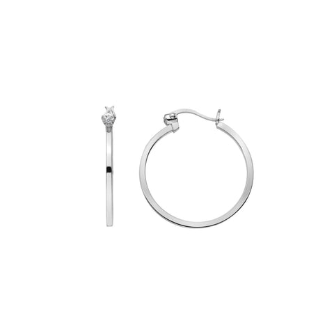 Hot Diamonds Hoops Hoop Earrings DE625