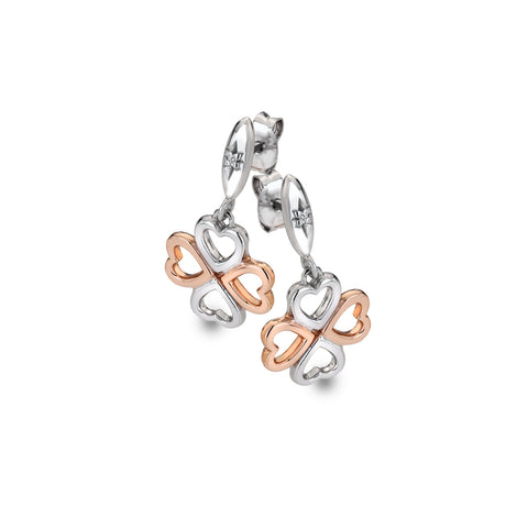 Hot Diamonds Lucky in Love Drop Earrings DE635