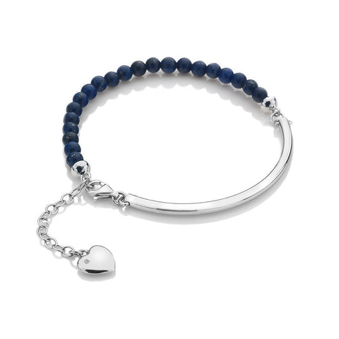 Hot Diamonds Blue Lapis Festival Bracelet DL309 2005064