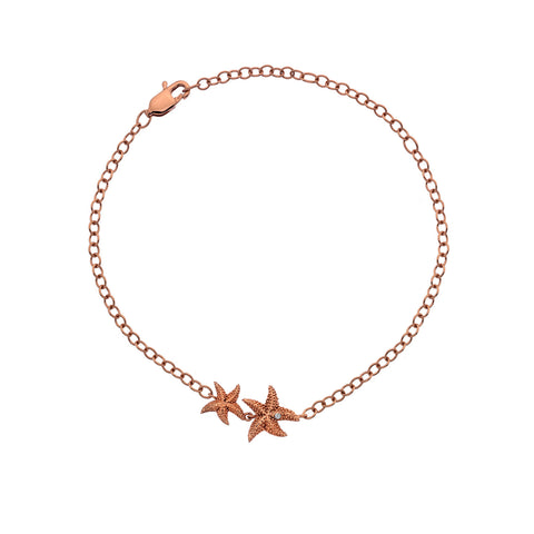 Hot Diamonds Rose Gold Plated Eternal Love Bracelet DL588