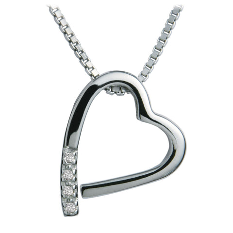 Hot Diamonds Memories Silver Pendant DP100