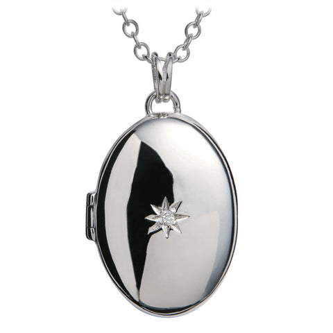 Hot Diamonds Inheritance Silver Locket Pendant DP549 2004164