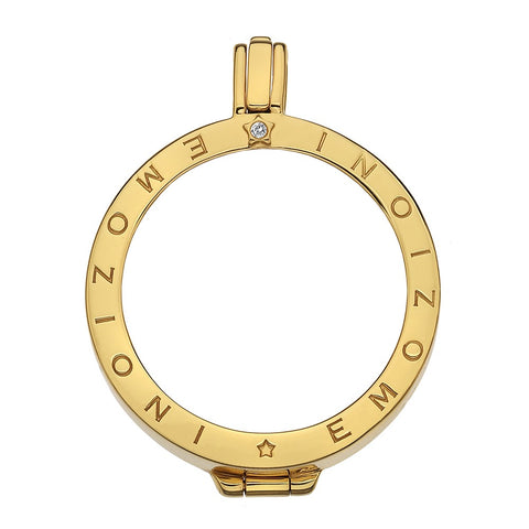 Hot Diamonds Emozioni Gold Keeper 33mm DP523 2109018