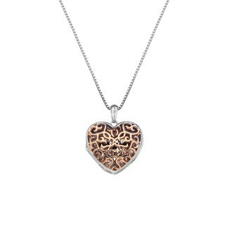 Hot Diamonds Shelter Small Heart Rose Gold Plated Locket DP672