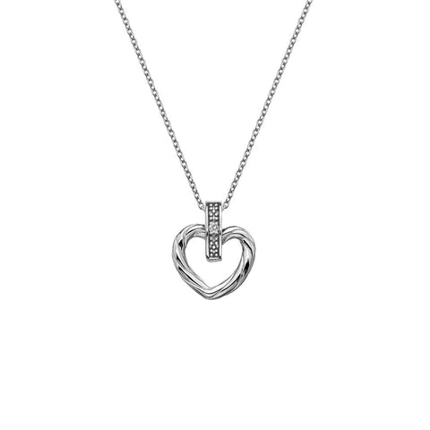 Hot Diamonds Breeze Heart Pendant DP674