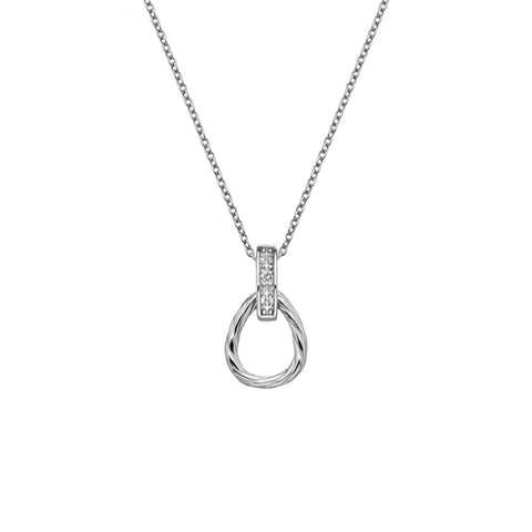 Hot Diamonds Breeze Teardrop Pendant DP676