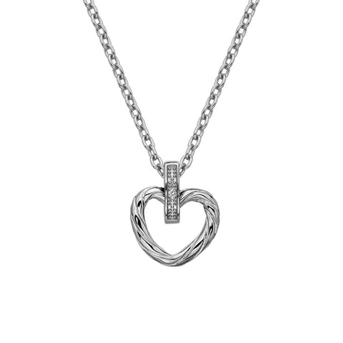 Hot Diamonds Large Breeze Heart Pendant DP689