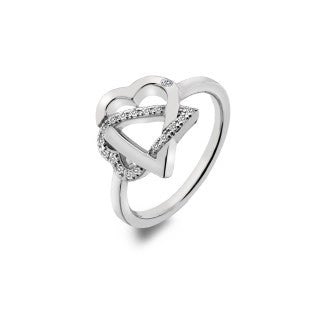 Hot Diamonds Adorable Sterling Silver Ring DR203