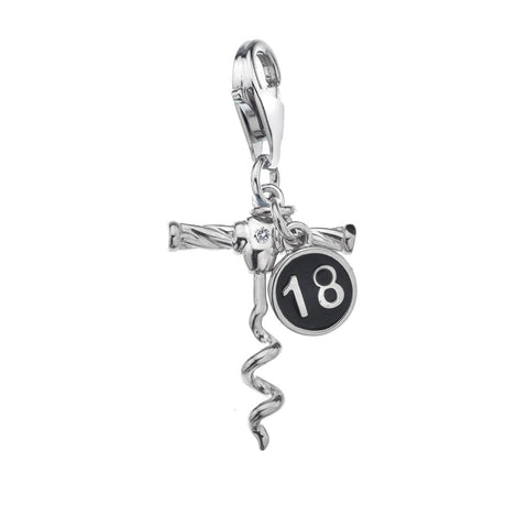 Hot Diamonds 18th Birthday Charm DT218 2007005