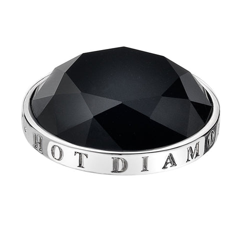 Hot Diamonds Emozioni Midnight Black 33mm Coin EC004 2108004