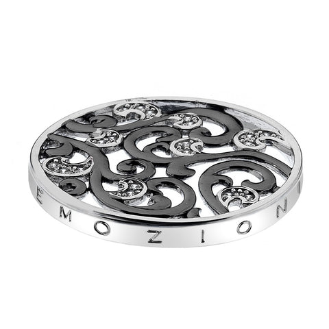 Hot Diamonds Emozioni Edera Oxidised Silver 33mm Coin EC375 EC207 2108194