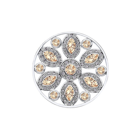 Hot Diamonds Emozioni Girasole Champagne 33mm Coin EC216 EC389 2108203