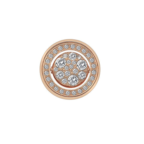 Hot Diamonds Emozioni Rose Gold Plated Estate e Primavera 25mm Coin EC257 2108264