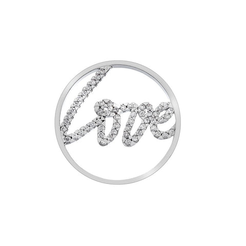 Hot Diamonds Emozioni Sparkle Love 33mm Coin EC299 2108280