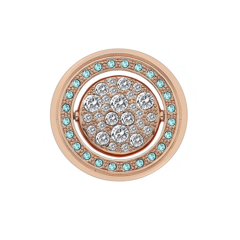 Hot Diamonds Emozioni Autunno e Inverno Rose Gold 33mm Coin EC249 EC413 2108256
