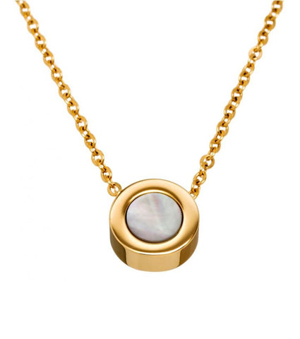 Edblad - Arctic Gold Plated Stainless Steel Necklace XXX