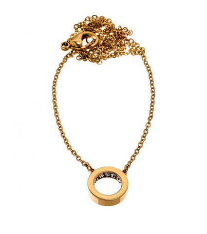 Edblad - Monaco Mini Short Gold Plated Stainless Steel Necklace 41530034