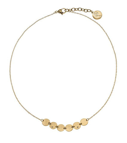 Edblad - Way Short Gold Plated Stainless Steel Necklace