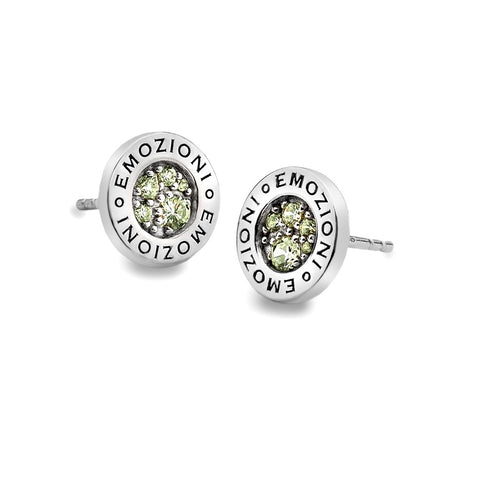 Hot Diamonds Emozioni Peridot Nature Earrings EE004 2103020 XXX