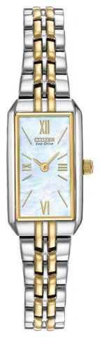 Citizen Ladies Silhouette Eco Drive Two Tone Watch EG2694-59D 1050138