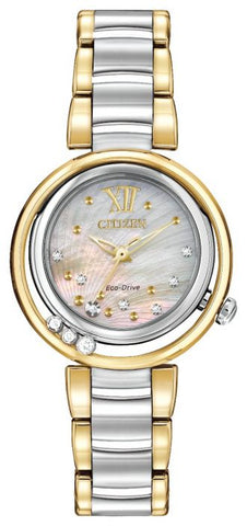 Citizen L Sunrise Diamond Eco Drive Ladies Watch EM0324-58D 1003192