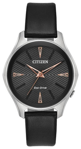 Citizen Modena Eco-Drive Ladies Strap Watch EM0591-01E 1003307