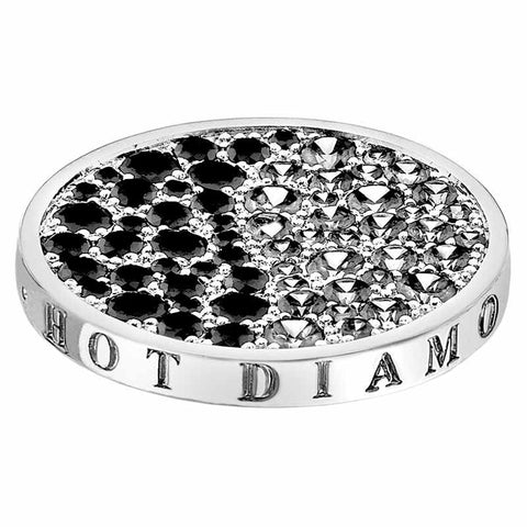 Hot Diamonds Emozioni Corrente Black 33mm Coin EC169 2108162