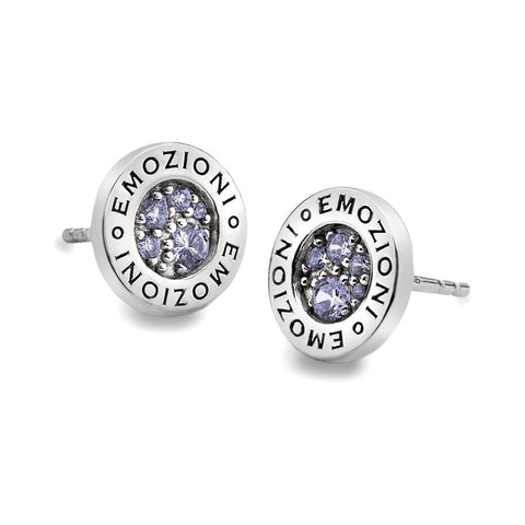 Hot Diamonds Emozioni Lavender Calmness Earrings EE005 2103021